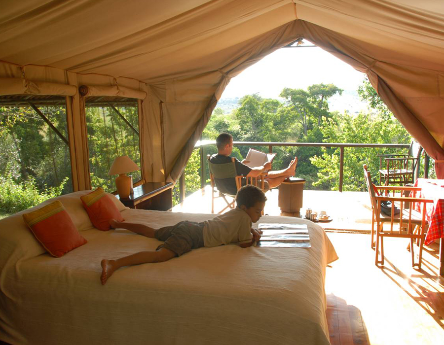 mara sekanani luxury camp masai mara