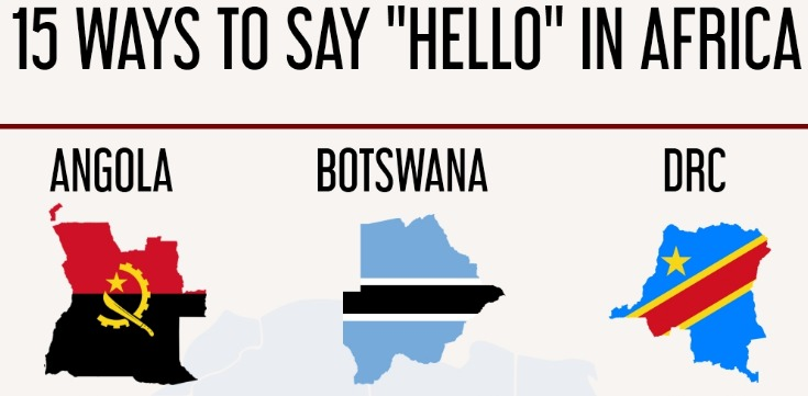 """15 Ways To Say """"Hello"""" in Africa"""