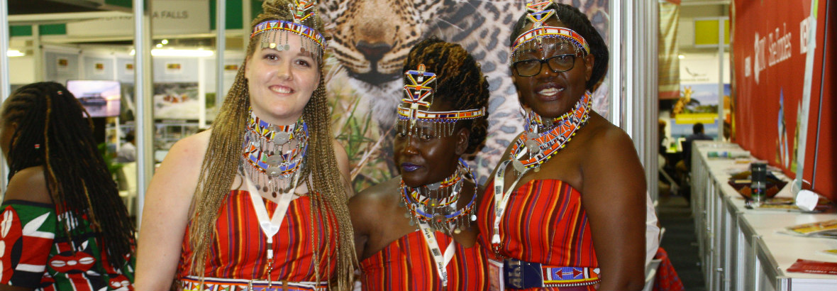 Mara Gates At WTM Africa!