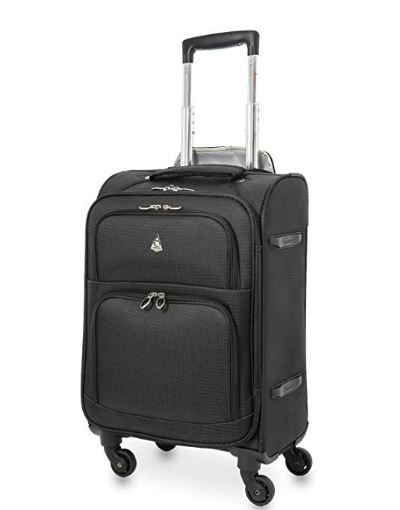 4 wheel carry on luggage