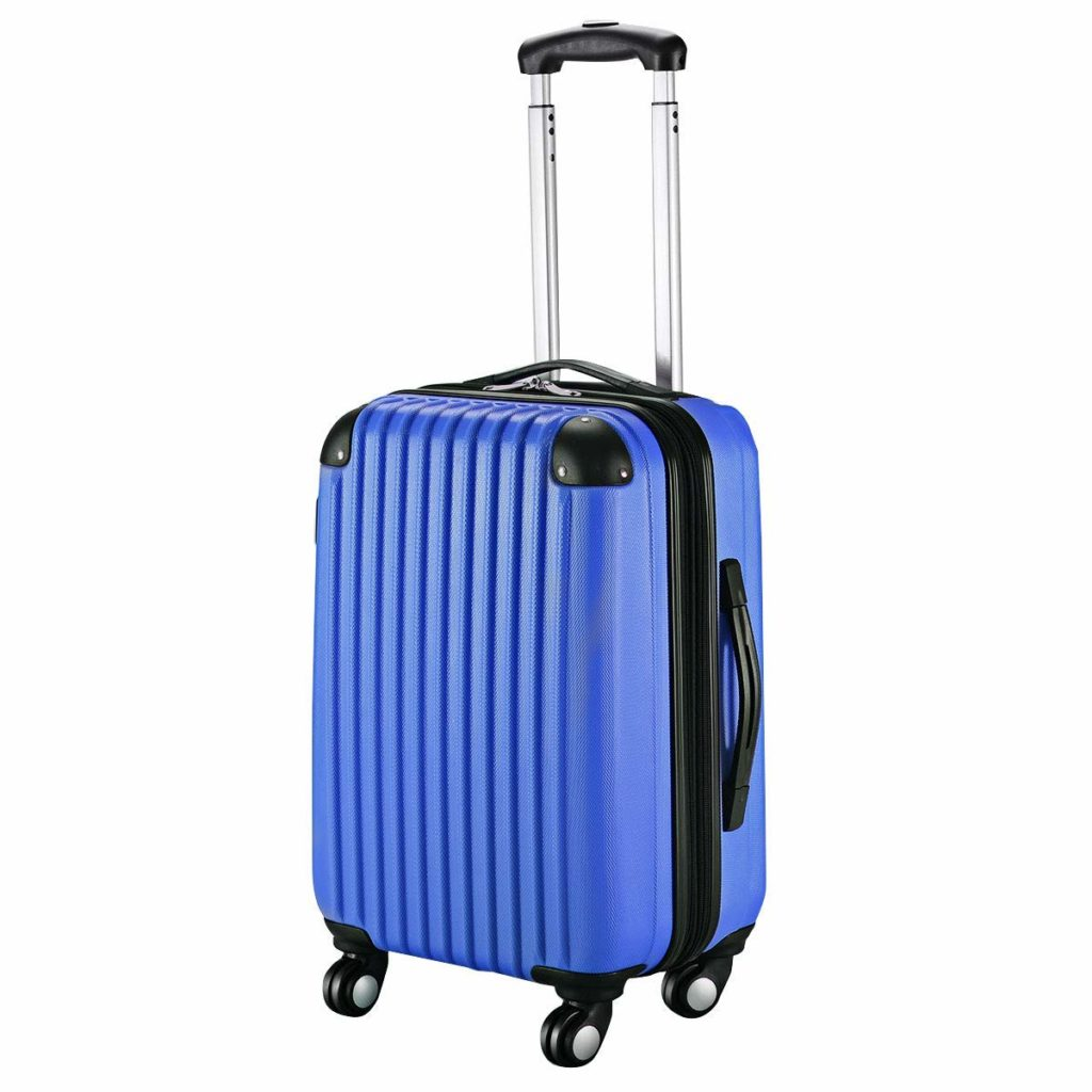 4 wheel carry on suitcase
